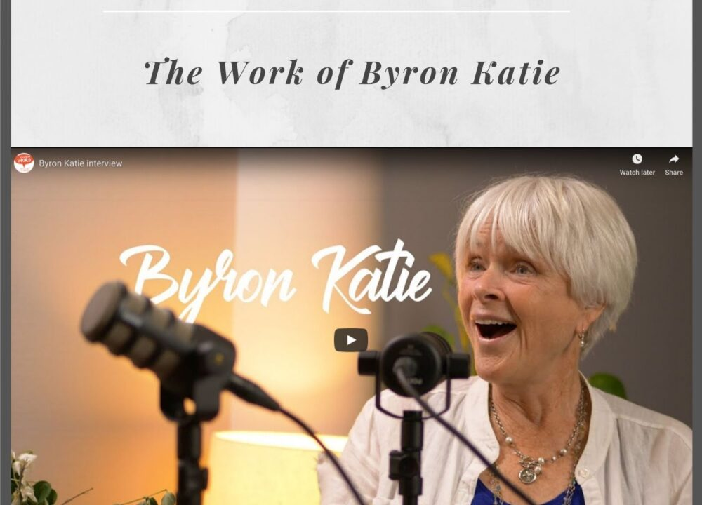 Podcast med Byron Katie och Mikael Karlholm, Spread the word