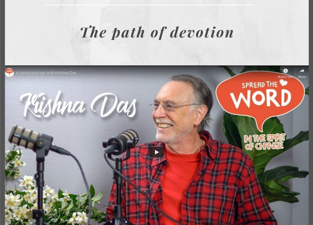 Krishna Das on YouTube Spread the Word Mikael Karlholm