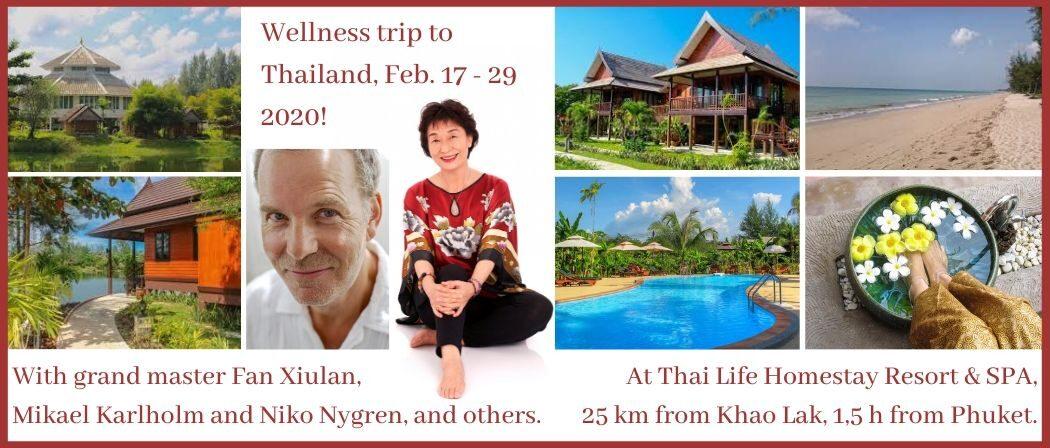 Thai life hälsoresa Fan Xiulan Mikael Karlholm