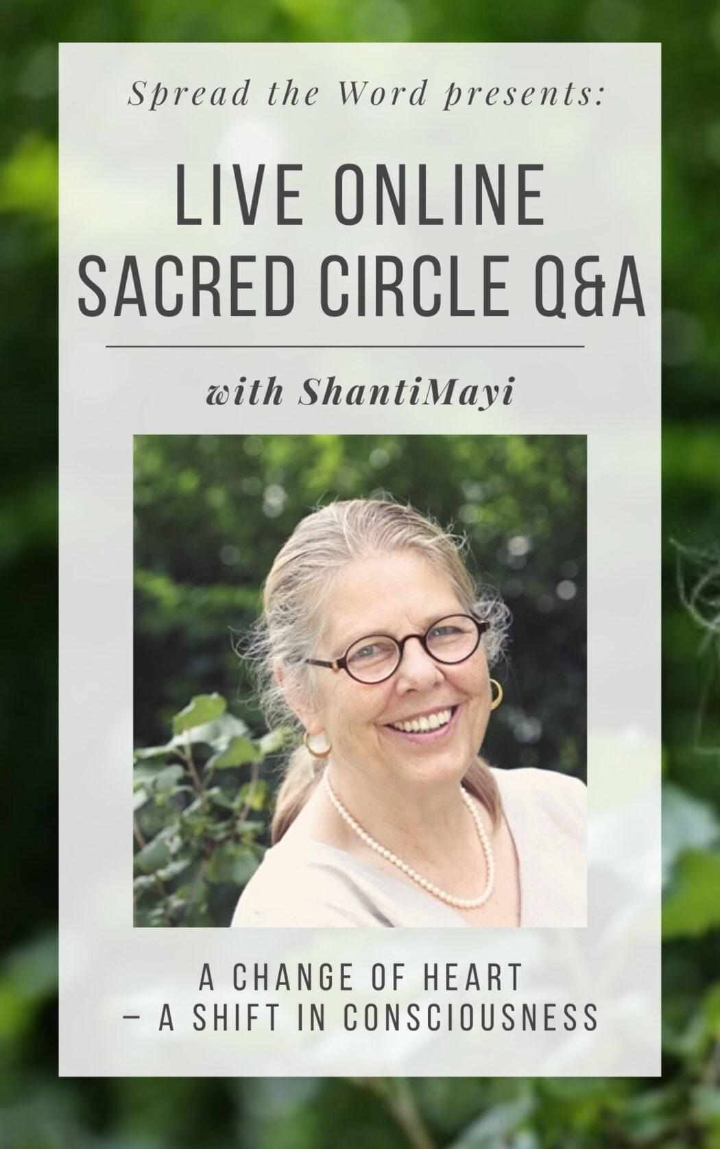 Sacred Circle Q&A with ShantiMayi